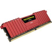 Corsair DDR4 Vengeance LPX 2x16GB 2666 C16 Red Geheugenmodule