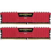 Corsair DDR4 Vengeance LPX 2x8GB 2400 C16 Red Geheugenmodule