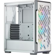 Corsair iCue 220T TG White Midi Tower Behuizing