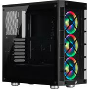 Corsair iCue 465X RGB Black Midi Tower Behuizing