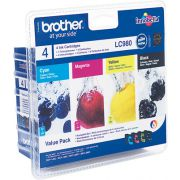 Brother Inktc. LC-980VALBP BK-Y-C-M