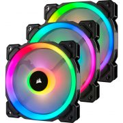 Corsair LL120 RGB 120mm Dual Light Loop RGB LED, 3 PWM Fan Pack with Lighting Node