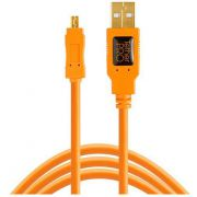 Tether Tools TetherPro USB 2.0 A/Mini-B 8 pin 15 ORG