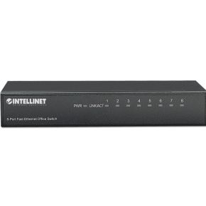 Intellinet 8-Port Fast Ethernet Office Switch