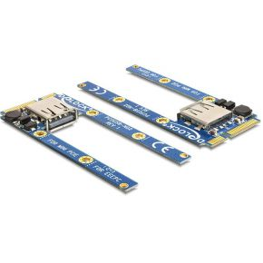 DeLOCK 95235 Mini PCI-Express module 1x USB2.0