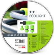 Cellfast - Ecolight Set - Tuinslang 20 M - 4 Spuitstukken - 1/2""