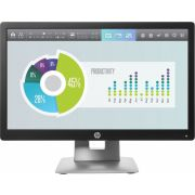 "HP EliteDisplay E202 IPS 20"" Zwart, Wit monitor"