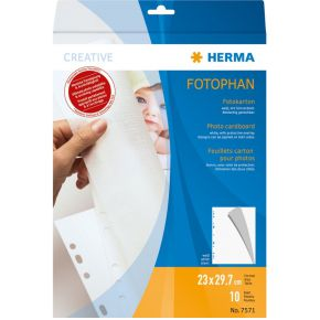 Herma Fotobox wit 10 vel 7571