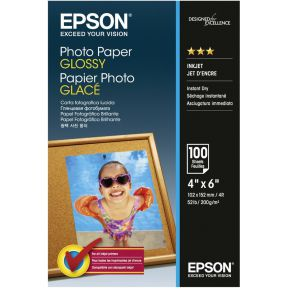 Epson Photo Papier Glans 10x15 cm 100 Vel 200 g