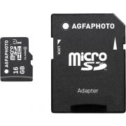 AgfaPhoto Mobile High Speed 16GB MicroSDHC Class 10 Adapter