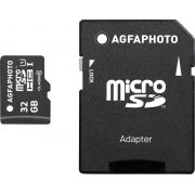 AgfaPhoto Mobile High Speed 32GB MicroSDHC Class 10 Adapter