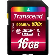 Transcend SDHC 16GB Class10 UHS-I 600x Ultimate