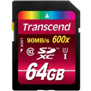 Transcend SDXC 64GB Class10 UHS-I 600x Ultimate