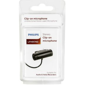 Philips LFH 91740 clip-on microfoon