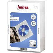 1x10 Hama DVD-cases Slim Transparant 83890