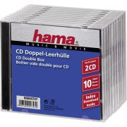 Hama CD dubbel Box 10er Jewel-Case 44747