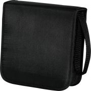 Hama CD-wallet nylon 40 zwart 33831