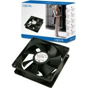 LogiLink PC case cooler 120x120x25 mm zwart.