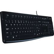 Logitech Keyboard K120 Black Azerty Belgisch