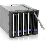 "Icy Dock MB155SP-B  Backplane Fatcage 5x3,5""HDD in 3x5,25""bay"