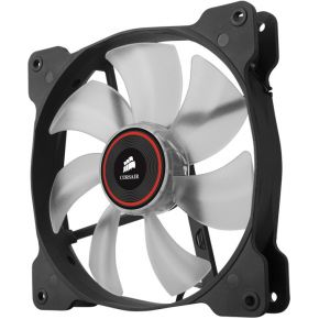 Corsair Casefan Air Series SP140 LED Red High Static Pressure 140mm Fan