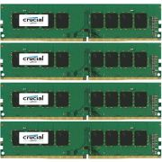 Crucial DDR4 4x8GB 2400 - [CT4K8G4DFS824A] Geheugenmodule