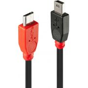 Lindy USB Micro-B - USB Mini-B, 0.5m