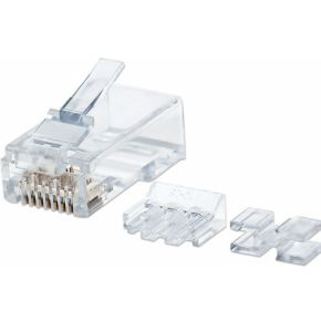 Intellinet 790659 RJ45 Transparant kabel-connector