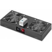 Digitus Cooling Unit for wall mounted 19`` Racks - [DN-19 FAN-2-WM-T-SW]
