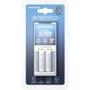 Panasonic Eneloop Compact lader incl. 1x2 AA Mignon accus