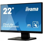 "iiyama ProLite T2252MSC-B1 21.5"" 1920 x 1080Pixels Multi-touch Zwart touch screen- monitor"