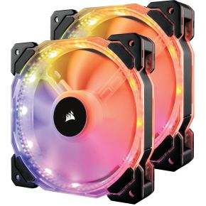 Corsair Casefan HD140 RGB 2-pack with Controller